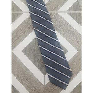 Brooks Brothers Gray Striped Tie